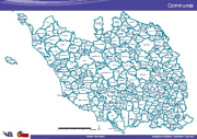 Carte PDF - Communes de Vendée