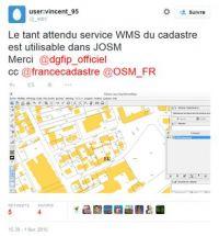 Cadastre: la DGFIP ouvre l'accès à son WMS