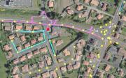 Carte du réseau d'éclairage public en Vendée
